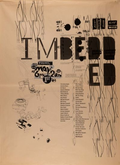 CalArts poster: Imbedded by