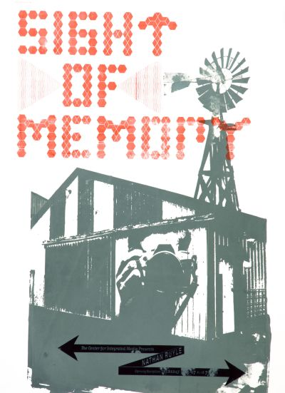 CalArts poster: Sight Of Memory by
