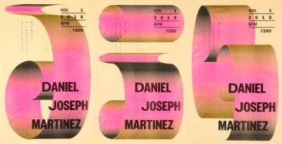 CalArts poster: Daniel Joseph Martinez by Christina Huang