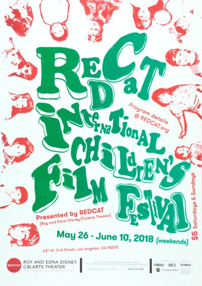 CalArts poster: International Children's Film Festival by Kathy Bates