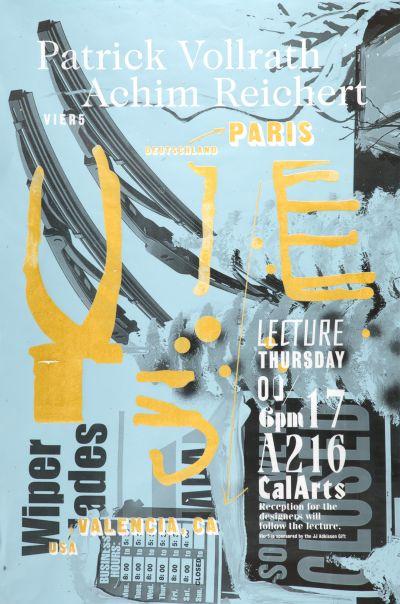 CalArts poster: Vier 5 by Scott Zukowski