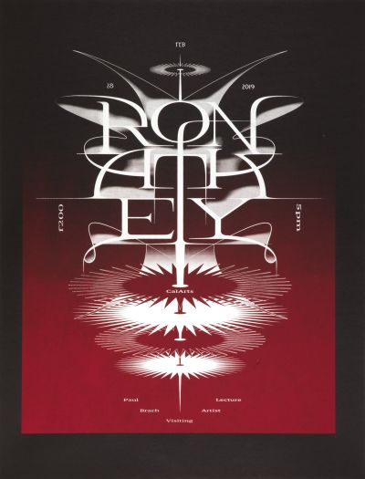 CalArts poster: Ron Athey 2 by Vivian Naranjo