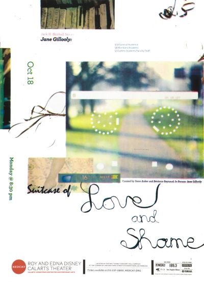 CalArts poster: Suitcase Of Love And Shame by Jessie Zo Juyoung Kim