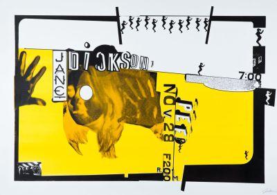 CalArts poster: Jane Dickson by Joseph Monnens