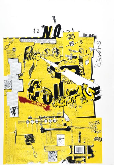 CalArts poster: Know Collage by Joseph Monnens