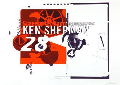 CalArts poster: Ken Sherman by Joseph Monnens