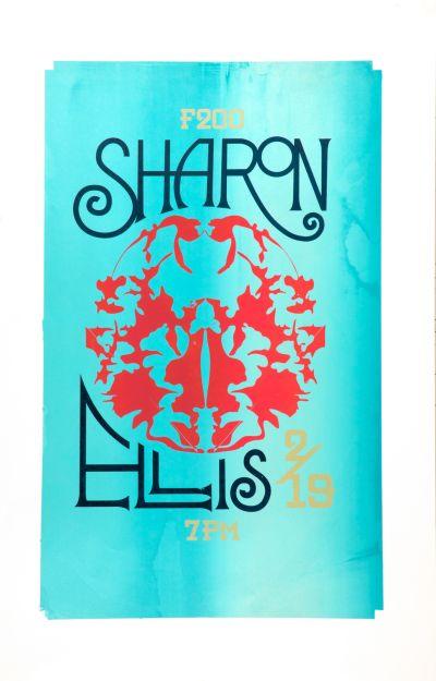 CalArts poster: Sharon Ellis by
