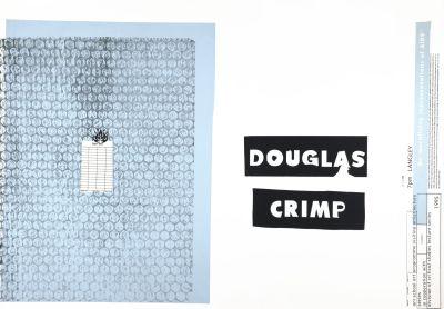 CalArts poster: Douglas Crimp by Kevin Lyons