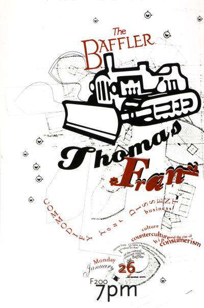 CalArts poster: Thomas Frank by Anita Lozinska