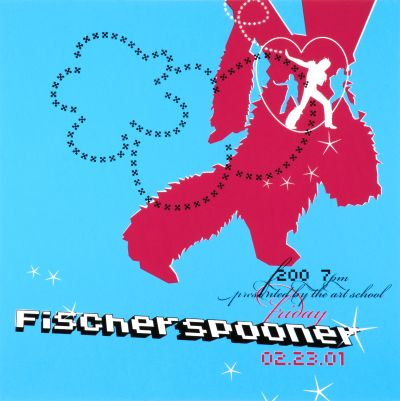 CalArts poster: Fischer Spooner by David Grey