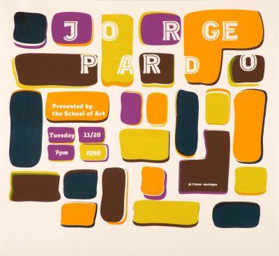 CalArts poster: Jorge Pardo by Stuart Smith