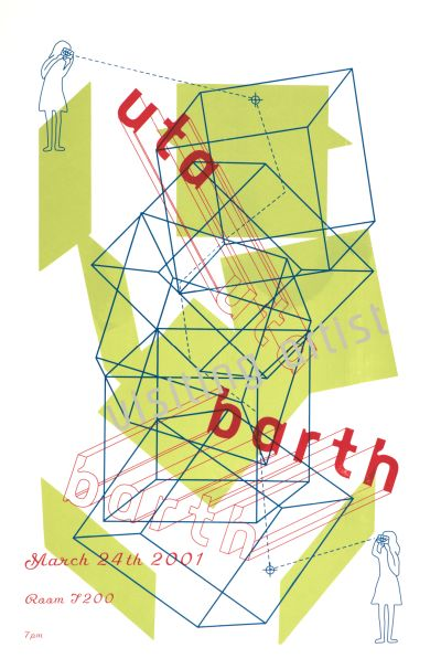 CalArts poster: Uta Barth by Karen Hirt