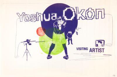 CalArts poster: Yoshua Okon by Matthew Normand