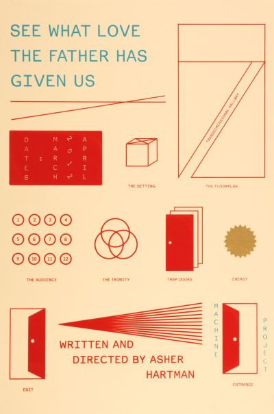 CalArts poster: See What Love The Father Has Given Us by Tiffanie Tran