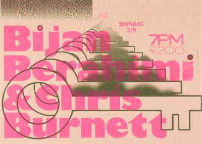 CalArts poster: Bijan Berahimi & Chris Burnett by Hayden Smith