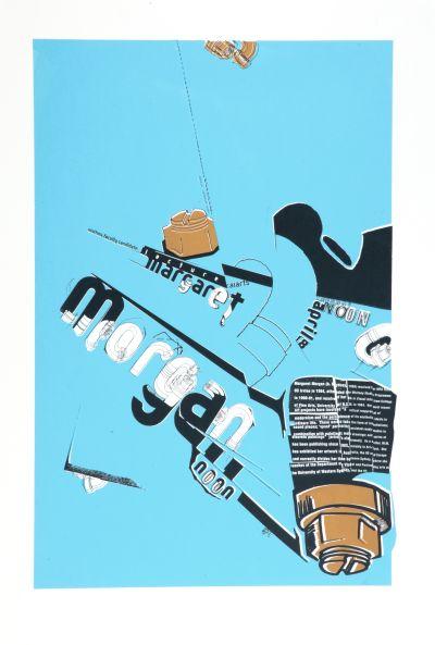 CalArts poster: Margaret Morgan by Joseph Monnens