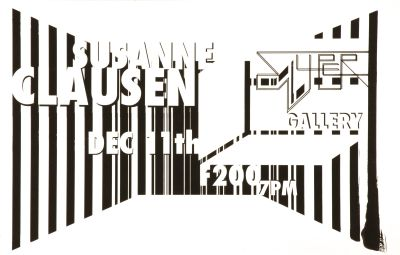 CalArts poster: Susanne Clausen by