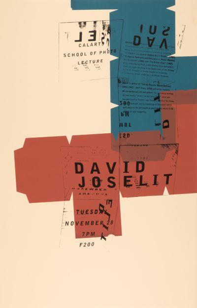 CalArts poster: David Joselit by