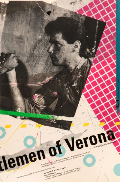 CalArts poster: Gentlemen of Verona by Kevin Hosmann