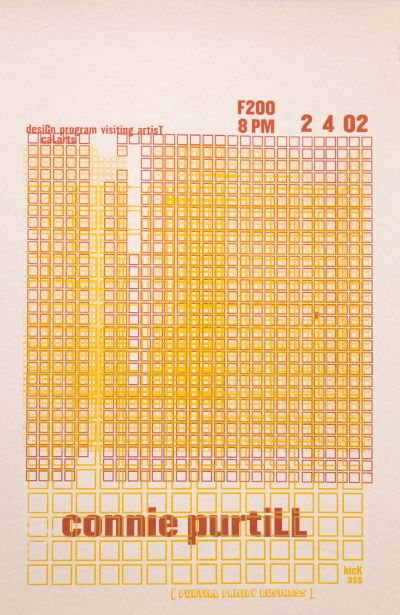 CalArts poster: Connie Purtill by
