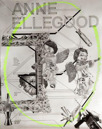 CalArts poster: Anne Ellegood by Conny Cavazos Candice Navi