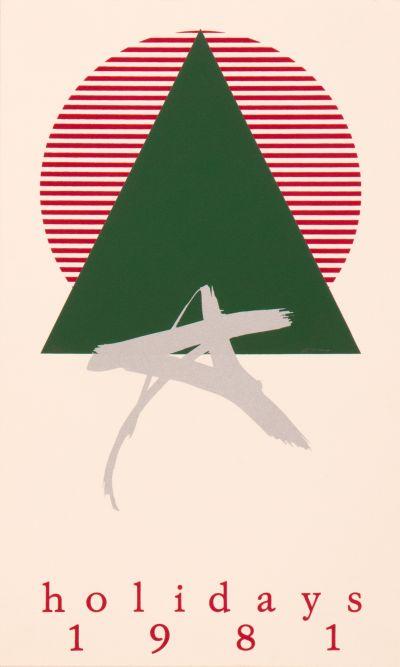 CalArts poster: Holidays 1981 by