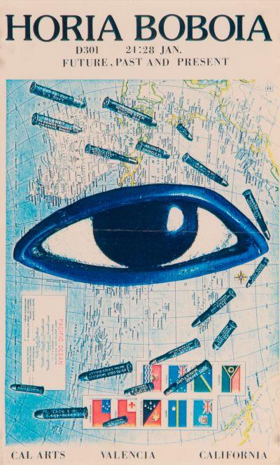 CalArts poster: Horia Boboia by