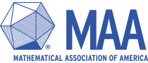 Logo of the Mathematical Association of American and link to it's review of Calculus in 5 Hours
