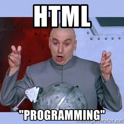 html programming meme