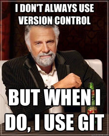 source control programming meme