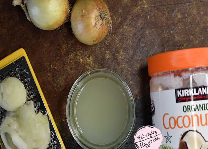 Onion Juice for Thinning Hair