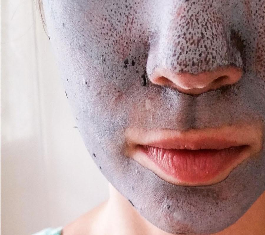 DIY facial mask for glowing skin