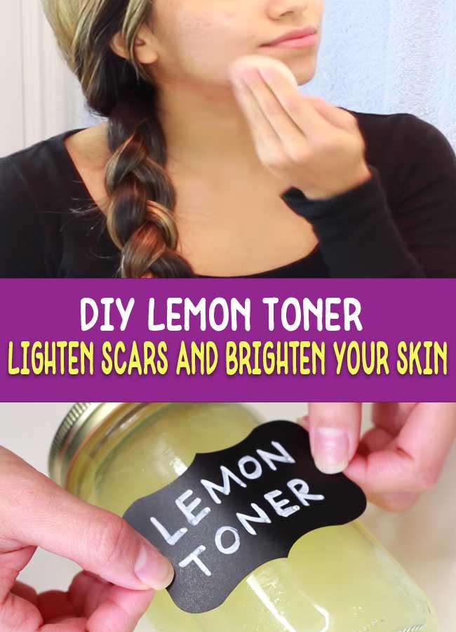 DIY Lemon Toner