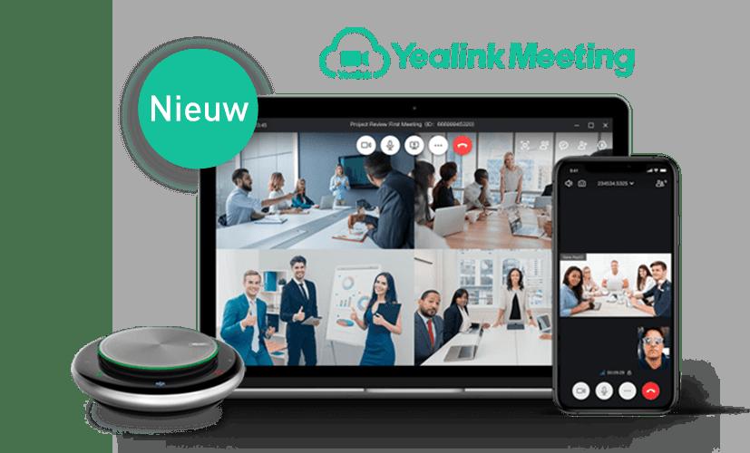 Videobellen met Yealink Meeting