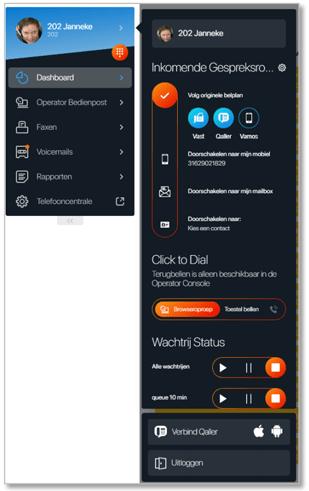 Web Call: bellen zonder beperkingen