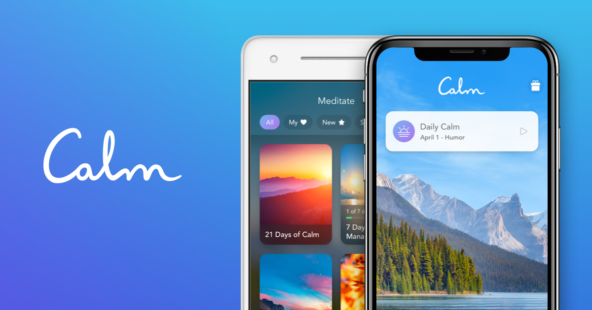 Calm - The #1 App for Meditation and Sleep