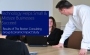 BCG Economic Study: Technology Helps SMB's Succeed