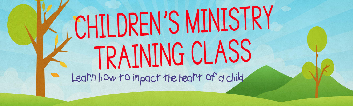Childrens Ministry Training Class image