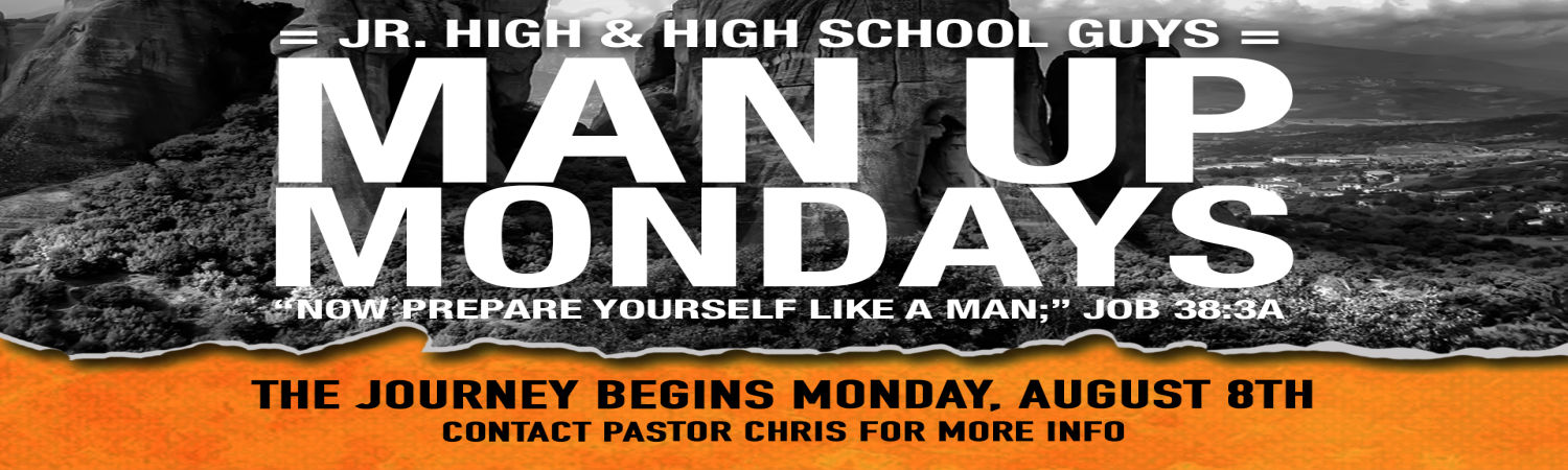 Man Up Mondays image