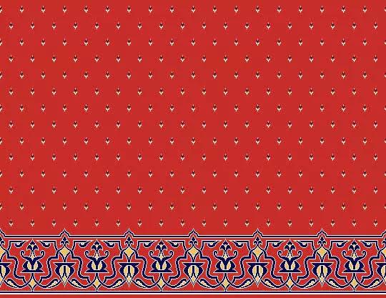 1010 Yün Cami Halısı Deseni