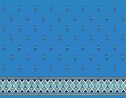 1022 Yün Cami Halısı Deseni