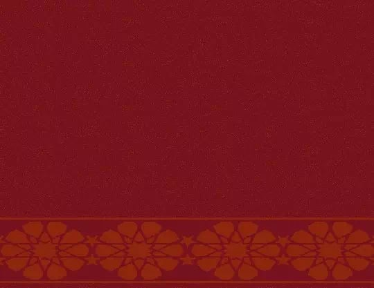 2052 Akrilik Cami Halısı Deseni Bordo