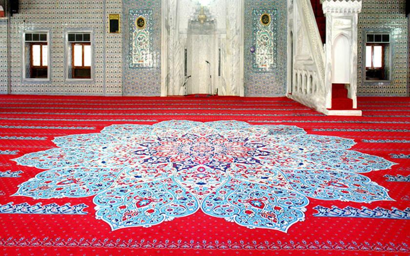 Saflı Cami Halısı