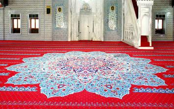 Hacı Bayram Cami Halısı