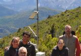 argentina: measuring mountain weather conditions