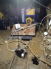 Field test—Hydraulic conductivity test apparatus with Campbell Scientific data collection