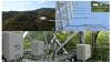 Fig. 2. Le CPEC 310 (a et c) et AP200 (b et d) installé dans une tour facilitent les études sur l'écologie et l'aménagement forestier du bassin versant du Qingyuan Forest CERN (China Ecology Research Network, Chinese Academy of Sciences)
