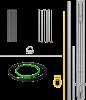 Tripod components