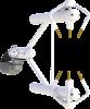 Analyseur de gaz CO2/H2O à champ ouvert intégré à un anémomètre sonique 3D