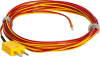 TCMINI K type thermocouple -B10 option with bead tip with 10 ft SLE (pn 35831)